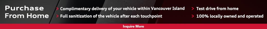 Audi Nanaimo - Digital Sales Experience